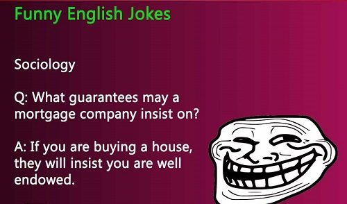 Top jokes in english