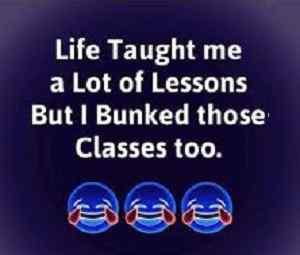 life quote funny status