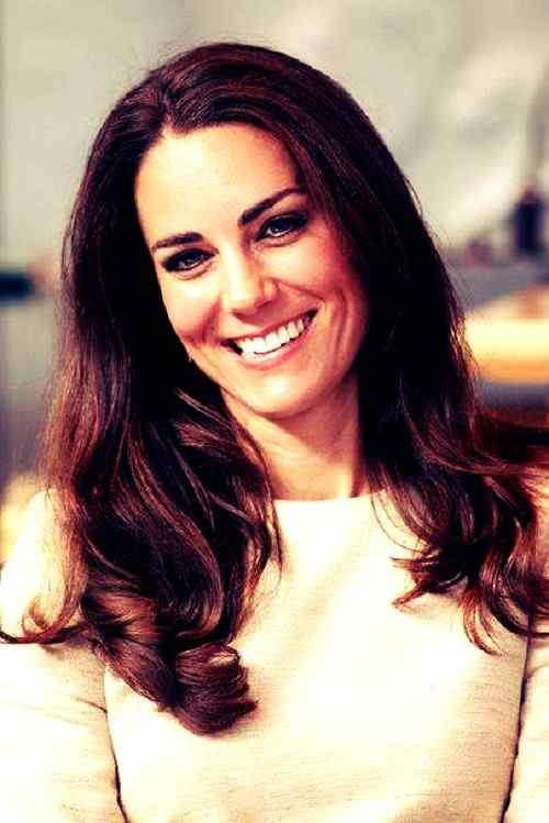 beautiful smile pics of kate middleton for Whatsapp