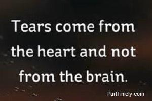 quote tears sad
