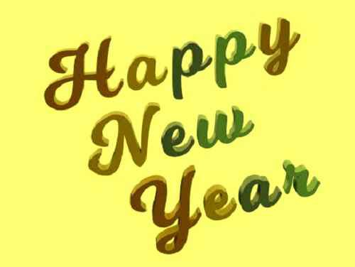 caption of happy new year wallpaper download