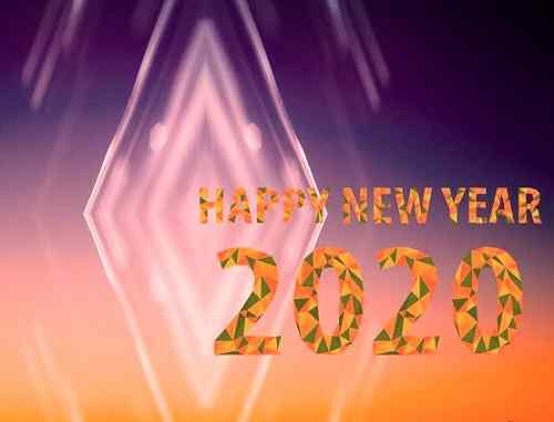 nice picture of happy new year
