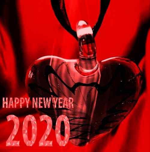 romantic wallpaper of happy new year download