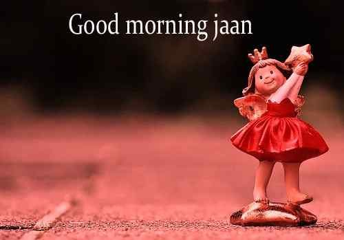 cute doll image with good morning download